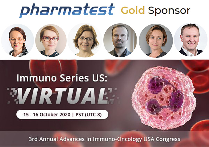 PHARMATEST TO ATTEND 3RD ANNUAL ADVANCES IN IMMUNO-ONCOLOGY US CONGRESS