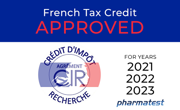 You are currently viewing Pharmatest receives the French Tax Credit Incentive (Crédit d'Impôt Recherche CIR)